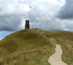 Glastonbury Tor in England has been a pilgrimage site since before the Christian era. Did Jesus once visit Glastonbury?