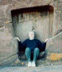 Robert in Aramu Muru Portal