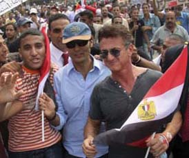 Sean Penn is in Cairo to help promote Egyptian tourism
