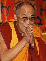 Buddhist meditation retreat features Dalai Lama teaching
