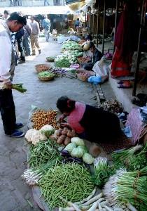 Kathmandu morning market