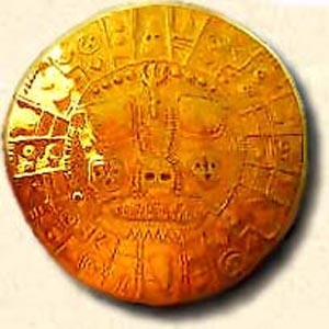 Aramu Muru's Golden Solar Disc