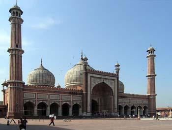 Jama Masjid mosque tour
