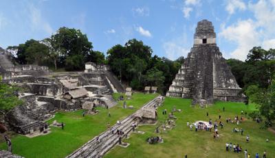 Maya ruins, Tikal