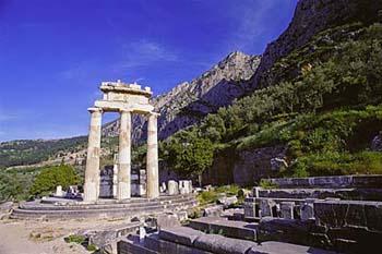 Delphi spiritual tour