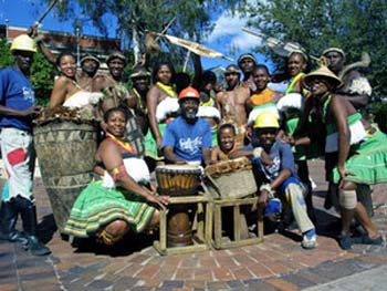 Performers at Gold Reef City