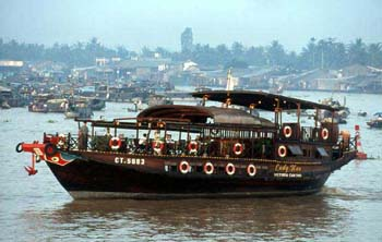 Mekong River boat cruise