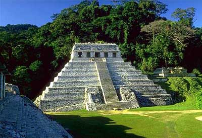 Mayan temple Palenque