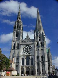 Chartres cathedral tour