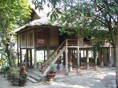 Muong village house