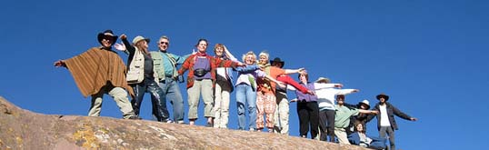 spiritual group tour peru