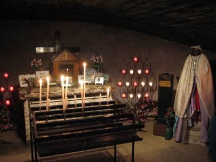 Saintes Maries de la Mer crypt