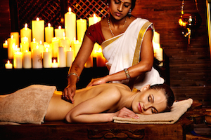 Ayurveda massage at Marari -web
