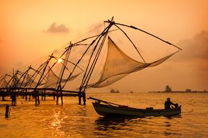 Chinese fishing nets -web