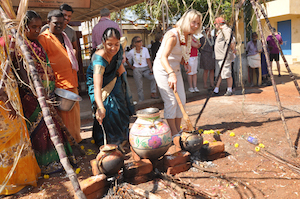 Local feast in the nearby village of Mamallapuram - web