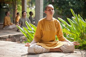 Meditation at Isha yoga center - web