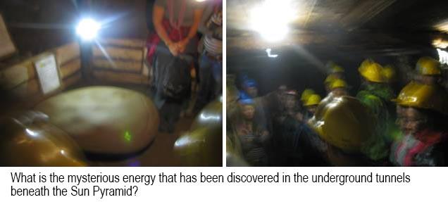 mysterious pyramid energy